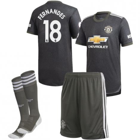 Детская гостевая форма Манчестер Юнайтед Фернандеш 18